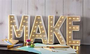 duck tape marquee letters mod podge rocks With how to make marquee letters