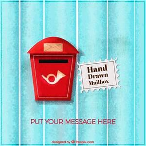 Boite Aux Lettres Vintage : vintage bo te aux lettres de fond t l charger des vecteurs gratuitement ~ Teatrodelosmanantiales.com Idées de Décoration