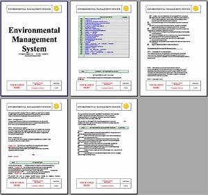 iso 14001 environmental system instant download iso14001 With construction environmental management plan template