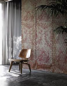 wallpaper with floral pattern matelasse39 contemporary With markise balkon mit wall deco tapete