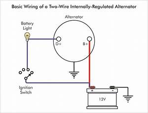 Wiring Diagram For Alternator Warning Light