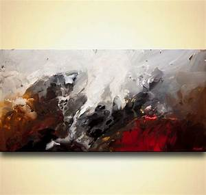 Painting - abstract art modern abstract painting #8110