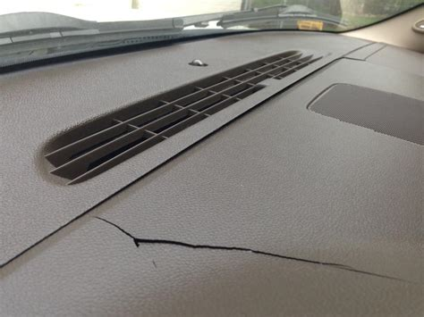 chevrolet tahoe cracked dashboard  complaints