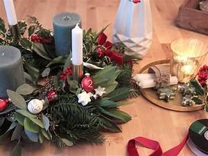 Adventskranz Ideen 2016 : selbstgemachter adventskranz sch n bei dir by depot ~ Frokenaadalensverden.com Haus und Dekorationen