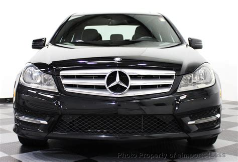 used mercedes c class 2013 used mercedes benz c class certified 4matic sport awd