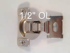 10 pairs 1 2 quot 1 7 16 quot compact frame kitchen cabinet hinge ebay
