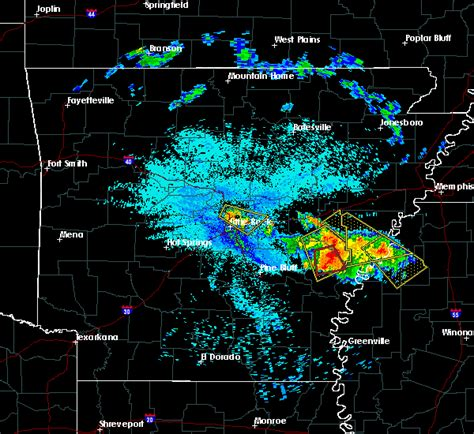 Hail Map For North Little Rock, Ar