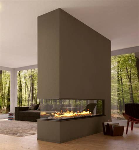 wohnzimmer ideen mit kamin 42 kreative raumteiler ideen für ihr zuhause archzine net