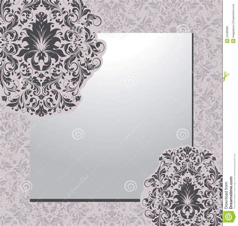 Just explore through our splendid range of editable. Damask Background,invitation Card Stock Vector - Illustration of abstract, color: 24486989