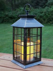 13, U0026, 39, U0026, 39, Country, Style, Rustic, Lantern, With, Flickering, Flameless, Led, Candle, And, 4