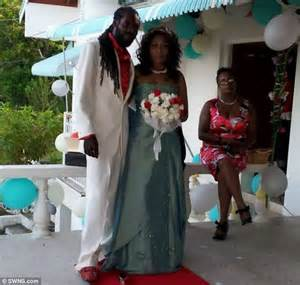 british womans jamaican wedding turns  horror