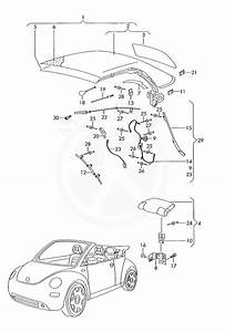 Buy Volkswagen 1y0871234a Clip  For Vehicles With  Top