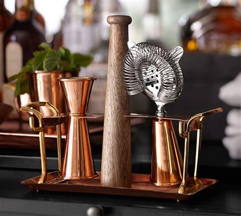 copper bar tool set pottery barn