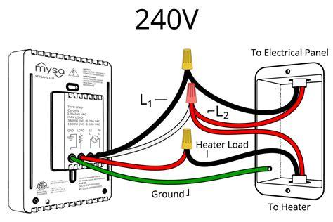 baseboard heater wiring diagram 240v wiring diagram and schematics