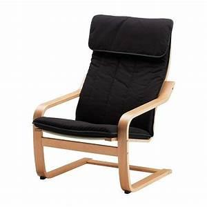Bequemer Sessel Ikea : po ng fauteuil ransta noir ikea ~ Frokenaadalensverden.com Haus und Dekorationen