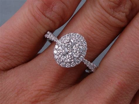 cluster diamond wedding rings most popular engagement ring styles of 2015