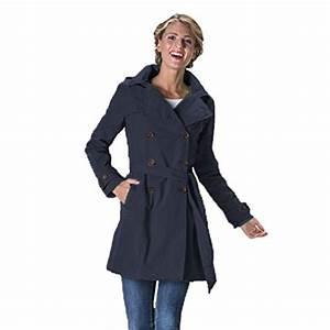 Trench Femme Avec Capuche : happyrainydays femme manteau imperm able trench coat avec capuche veste de pluie ~ Farleysfitness.com Idées de Décoration