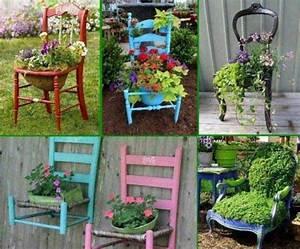 35 idees entre recuperation transformation et With exemple de decoration de jardin