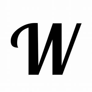W | latin capital letter w | Lobster1.1, Regular @ Graphemica