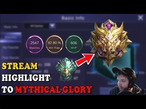 mythic mobile legend road to mythical highlight 13 wins in a row