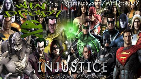 injustice gods among us android injustice gods among us para android grandioso juego de
