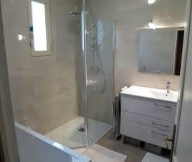 Rangement Baignoire Bébé r 233 novation salle de bain dans les tons chaleureux 224 rennes