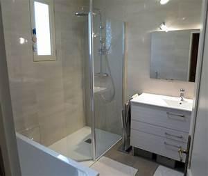Rénovation Salle De Bain : r novation salle de bain dans les tons chaleureux rennes ~ Premium-room.com Idées de Décoration