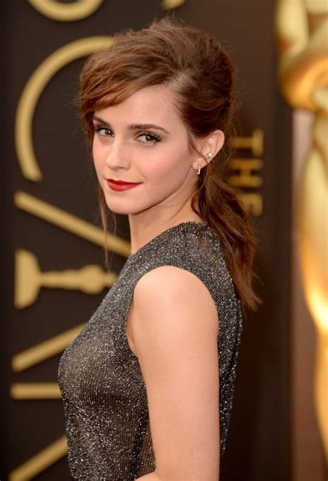 Emma Watson Oscar Awards Best Hairstyles