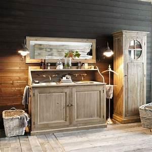 Meuble De Salle De Bain Maison Du Monde : mobilier de salle de bain en bois photo 15 15 de tr s meubles de salle bain de chez maisons ~ Melissatoandfro.com Idées de Décoration