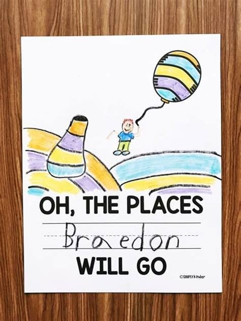 oh the places you ll go printable simply kinder 145 | 3e6b9e03559e06503f3c1a8b188f0a9d