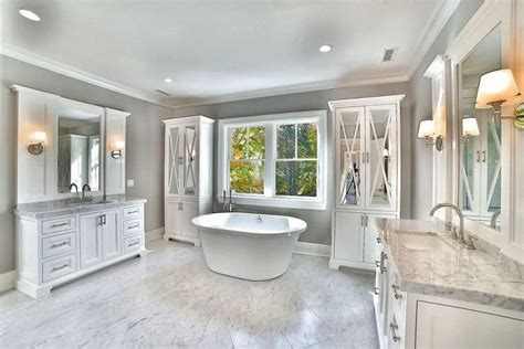 27 beautiful marble master bathroom designs d233cor outline
