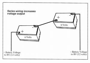 12 Volt Batteries In Series Wiring Diagram