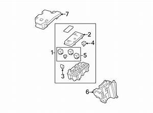 25865467 - Buick Fuse  Box  Relay  And  Block Assembly