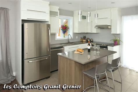 cuisine comptoir comptoir de granit et quartz comptoirs de cuisine en quartz