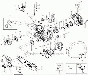 Poulan Wild Thing Chainsaw Parts Diagram