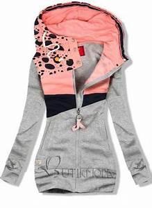Mode Für Frauen Unter 160 Cm : verl nderte sweatjacke mit kapuze rei verschluss vorne an den seiten zwei eingrifftaschen ~ Watch28wear.com Haus und Dekorationen