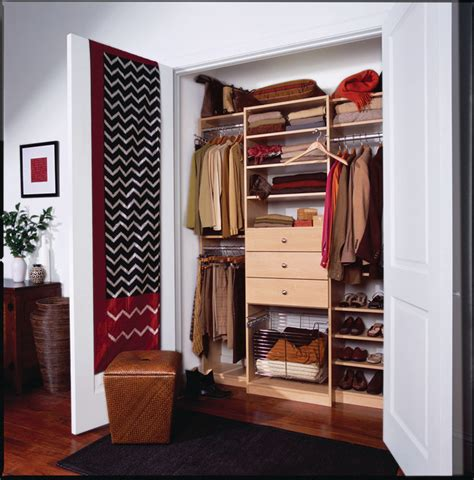 Men's Compact Reachin Closet, Manhattan, Ny Traditional