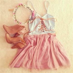 Dress: shoes, hair accessory, hat, top, cute, weheartit ...