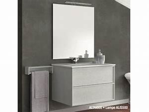 Meuble 60 Cm De Large : meubles lave mains robinetteries meuble teck meuble de salle de bains suspendre de 60 cm ~ Teatrodelosmanantiales.com Idées de Décoration