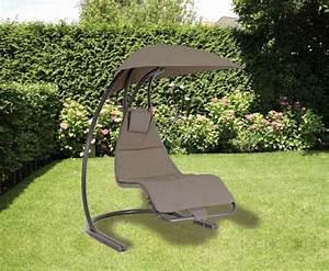 Transat Double Jardin : chaise longue suspendue et fauteuil relax ~ Teatrodelosmanantiales.com Idées de Décoration
