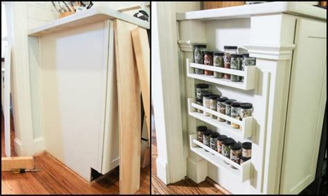 Ikea Hack Spice Rack by Ikea Hack Built In Spice Rack Diy Projects For Everyone