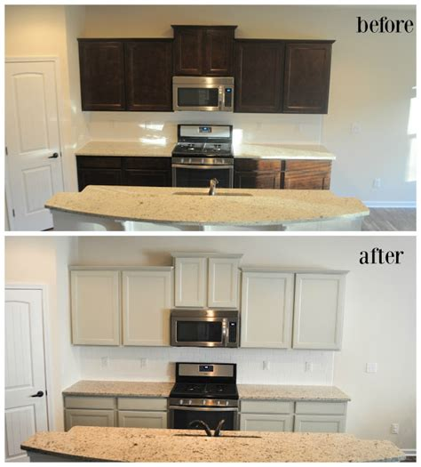 On The V Side Kitchen Before After Painted Kitchen