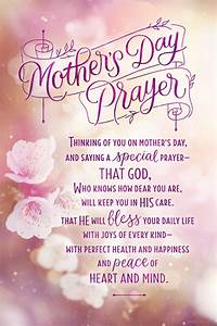 """""""Mother's Day Prayer Ecard"""" 