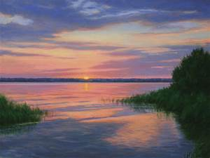 Sunrise Paintings Oil | www.pixshark.com - Images ...