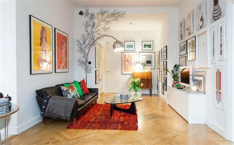 Wandgestaltung Fürs Wohnzimmer  36 Kreative Und