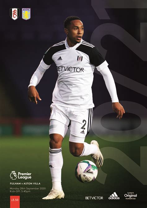 Fulham v Aston Villa (EPL) 27 Sep 2020 – Press Box ...