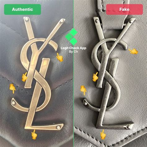 step  check  ysl metal logo   front side   loulou bag   yves saint