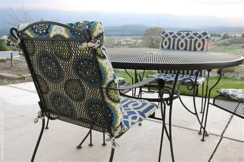 make your own reversible patio chair cushions make it