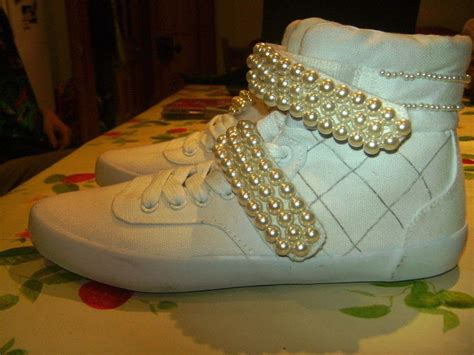 top ghetto chanel tribute shoes  shoe embellishing