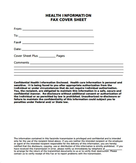 6+ Sample Fax Cover Sheet For Resumes  Sample Templates